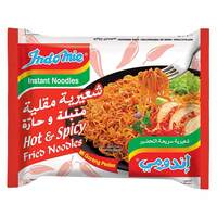Indomie Hot And Spicy Fried Noodles 80g x Pack of 5