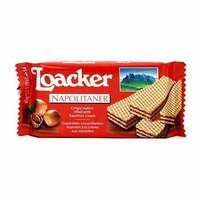 Buy Loacker Double Chocolate Wafers 175gm Online Shop Food Cupboard On Carrefour Egypt