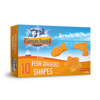 Captain Fisher Bread Shapes 400GR