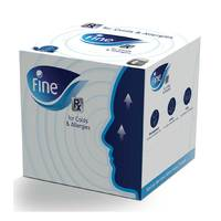 Fine Rx Facial Tissue 3 Ply Cubic 50 Sheets