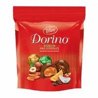 Tiffany dorino milk chocolate pouch assorted praline centres 330 g