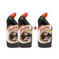 Harpic Power Plus Liquid Toilet Cleaner Original 500ML 2+1 Free