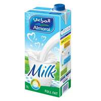 Almarai UHT Milk Full Fat Vit Milk 1l