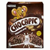 Nestle Chocapic Chocolate Breakfast Cereal Bar 25g x Pack of 6