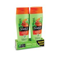 Vatika moisture treatment shampoo almond & honey 400 ml x 2