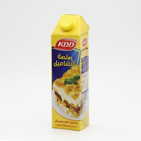 Buy Kdd Bechamel Sauce Ready 1 L Online Shop Food Cupboard On Carrefour Saudi Arabia
