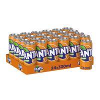 Fanta soft drink orange 330 ml x 24 pieces