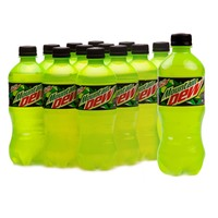 Mountain Dew Carbonated Drink 500ml x Pack of 12