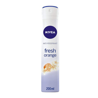 Nivea deodorant spray fresh orange 200 ml