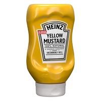 Heinz Yellow Mustard 396g