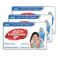Lifebuoy Bar Soap Mild Care 160g x Pack of 3
