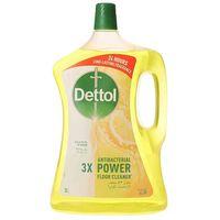 Dettol 3X Antibacterial Power Floor  Cleaner Lemon 3L