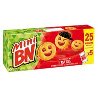 Mini BN Strawberry Biscuits 175g