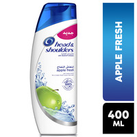 Head & shoulders apple fresh anti-dandruff shampoo 400 ml
