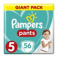 Pampers pants size 5 giant pack 12-18 Kg × 56 diapers
