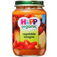 Hipp Organic Vegetable Lasagne Pasta 190g