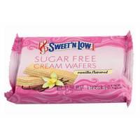 Sweet'N Low Sugar Free Cream Wafers Vanilla 38g