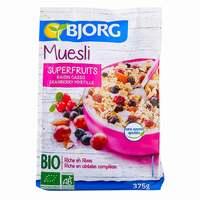 Bjorg Organic Superfruits Muesli 375g