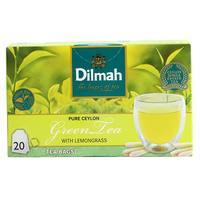 Dilmah Ceylon Green Tea with Lemongrass 40g