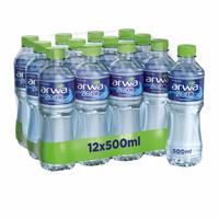 Arwa water zero sodium 500 ml × 12