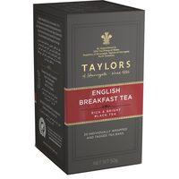 Taylors English Breakfast  Tea 20 Tea Bags