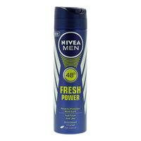 Nivea men 48 hour fresh power musk scent deodorant 150 ml