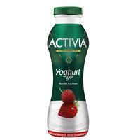 Activia YoghurtGo Drinkable Youghurt Snack Wild Strawberry 280ml