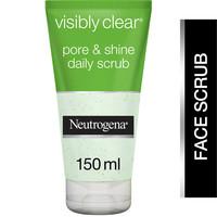 Neutrogena Facial Scrub Visibly Clear Pore & Shine 150ml