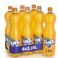 Fanta Orange 2.25L x Pack of 6
