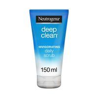 Neutrogena deep clean invigorating face scrub 150 ml