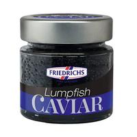 Friedrichs Lumpfish Caviar Black 100GR