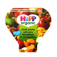 Hipp Shell Shape Pasta with Juicy Tomato and Courgettes 250g