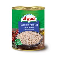 Al Wadi Al Akhdar Beans White 425GR
