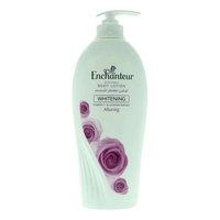 Enchanteur perfumed body lotion whitening alluring  vitamin c & licorice extract 500 ml