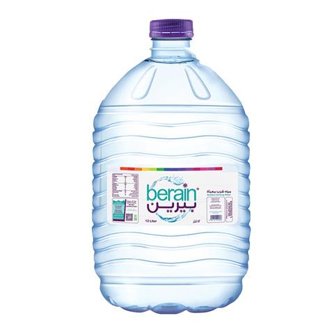Buy Berain Bottled Drinking Water 12 L Online Shop Beverages On Carrefour Saudi Arabia