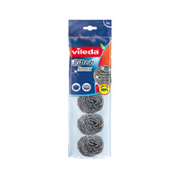 Vileda Scourer Spiral And Inox 5 Pieces