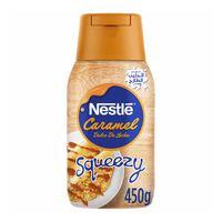 Nestle caramel dulce de leche  squeezy 450 g