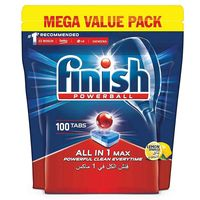 Finish Powerball All in 1 Lemon 100 Tablets