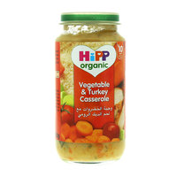 Hipp Organic Vegetable and Turkey Casserole 250g
