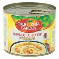 California Garden Canned Hommos Tahina Dip 220g
