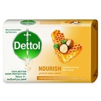 Dettol Nourish Antibacterial Bar Soap 120g