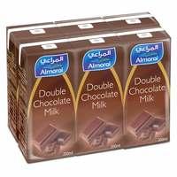 Almarai UHT Double Chocolate Milk 200mlx6