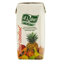 Al Rabie Fruit Cocktail Nectar Juice 200ml