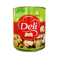 Deli Mushrooms Pieces & Stems 800GR