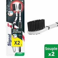 Signal Anti-Bacterial Silver Charcoal Toothbrush MP2-Soft