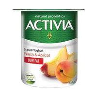 Activia Stirred Yoghurt Low Fat Peach-Apricot 120g
