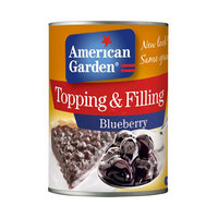 American Garden Topping and Filling Blueberry 595g