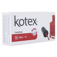 Kotex Mini Tampon Pack Of 16