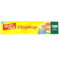 Glad Cling Wrap 1000 Sq. Ft