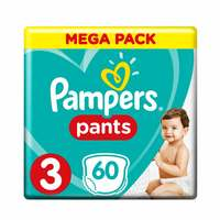 Pampers Pants Diapers Size 3 Midi 6-11 kg Mega Pack 60 Count